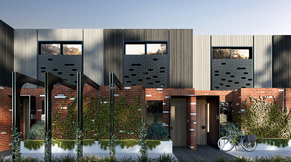 A boutique collection  of contemporary Terrace Homes in West Footscray