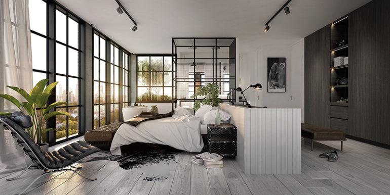 GURN9993_Wellington-Marketing_IN09_Penthouse-North_Master-Bedroom_Collingwood-Scheme